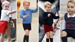 Perché il principino George indossa sempre i pantaloncini