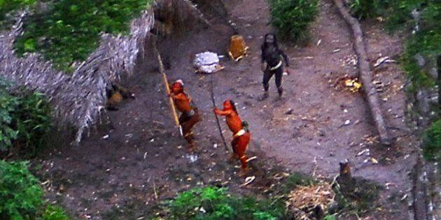 In Brasile una tribù primitiva è stata