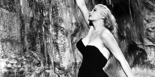 Anita Ekberg in a scene from the Fellini film La Dolce Vita. (Photo by Herbert Dorfman/Corbis via Getty