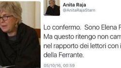 Perché i tweet di Elena Ferrante sono