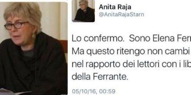 Anita Raja su twitter: