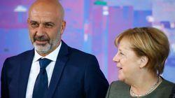 Merkel riceve il sindaco di Amatrice a Berlino: