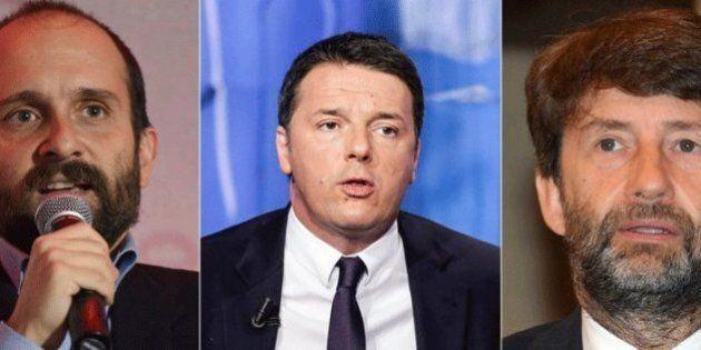 Assemblea Pd, Matteo Renzi si siede al caminetto delle