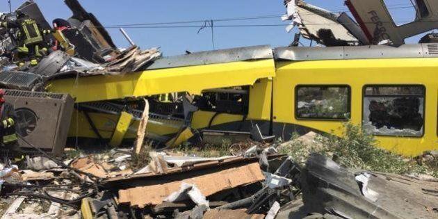 Scontro treni, la Procura di Trani segue la pista dell'errore umano. Indagini anche sul raddoppio del...