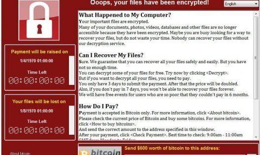 Attacco hacker mondiale con cyber armi