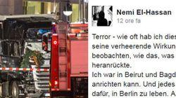 Questo giovane musulmano, berlinese di adozione, scrive su Fb quello che molti