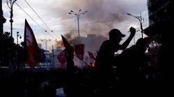 Proteste di studenti e sindacati in tutt'Italia contro la