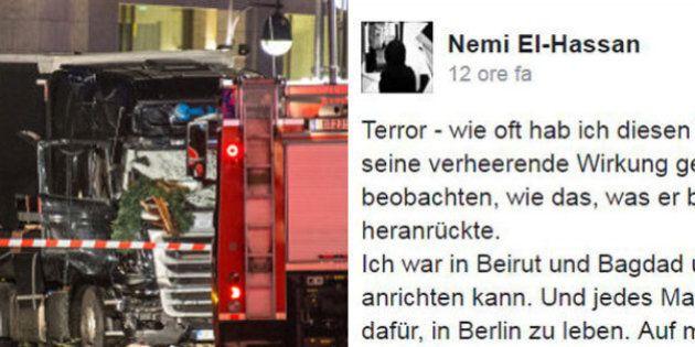 Dopo l'attacco a Berlino, un giovane musulmano scrive su Facebook quello che molti