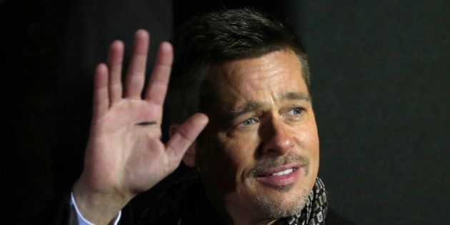 Actor Brad Pitt arrives at the premiere of the