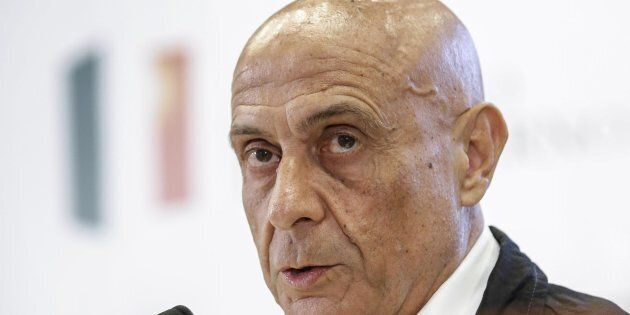 Il ministro dell'Interno Marco Minniti in una recente immagine