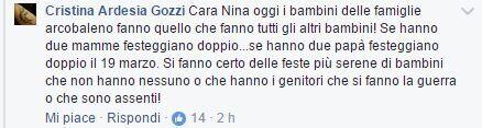 Nina Moric scatena una bufera sui social nel giorno della festa della