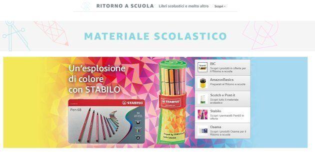 71f4c3e5dc Le 10 migliori offerte per la scuola su Amazon: pennarelli, lavagne ...