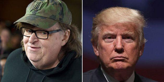 Michael Moore contro Donald Trump:
