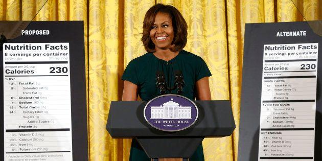 Sul cibo Michelle fa eco a Barack, senza timore di