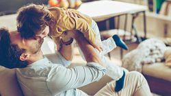 I bambini che passano più tempo con i propri papà sono i più
