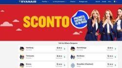 100mila biglietti a 5 euro: l'offerta della Ryanair è valida fino alle 19. Ma il sito è spesso in