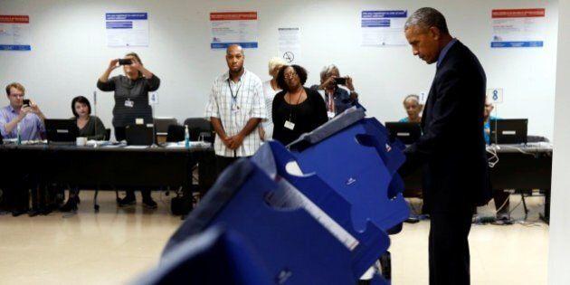 Elezioni Usa 2016, Barack Obama e Michelle hanno già votato a Chicago: