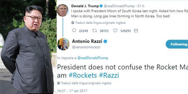 Trump definisce Kim Jong-Un un