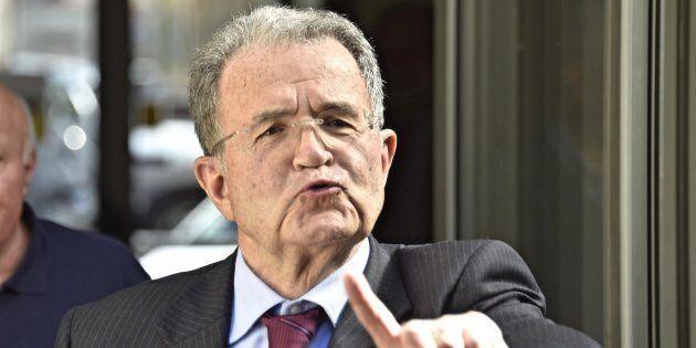 Romano Prodi partecipa ad un incontro sul tema 'Il ffuturo dell'economia mondiale', alla Fondazione Stensen,...