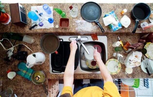Per avere casa splendente in 8 minuti devi pulire come un