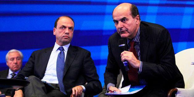 28/11/2011 Monza Assemblea Confindustria Monza e Brianza nella foto Angelino Alfano e Pier Luigi