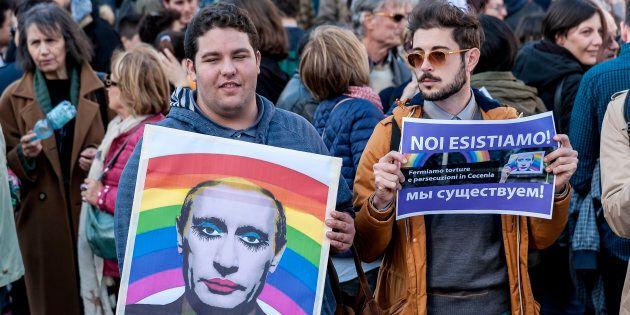 L'Ue contro le persecuzioni in Cecenia, uniti per i diritti