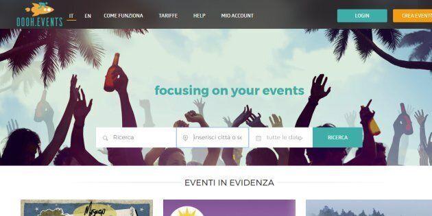 Nasce OOOH.Events, la biglietteria self service per gestire le vendite a costo
