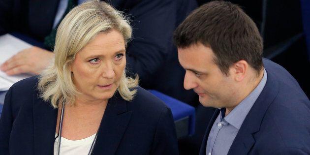 Florian Philippot, vice di Marine Le Pen, lascia il Front National sbattendo la