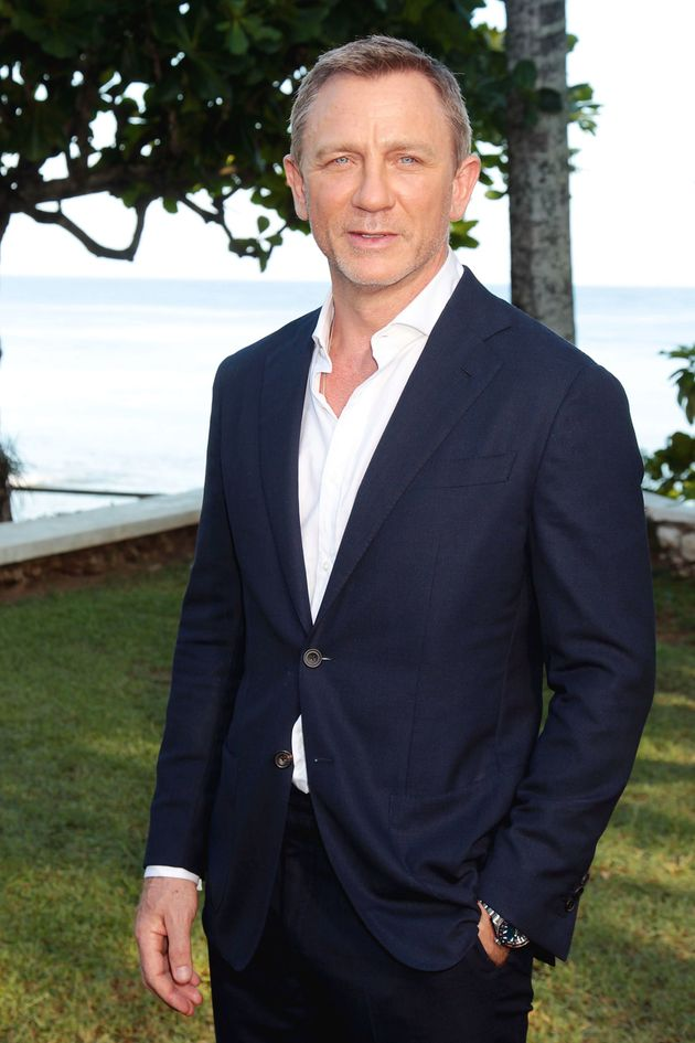 Daniel Craig at Thursday's Bond announcement in