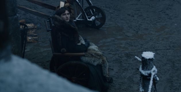 Bran also looking at Tyrion in Season 8, Episode