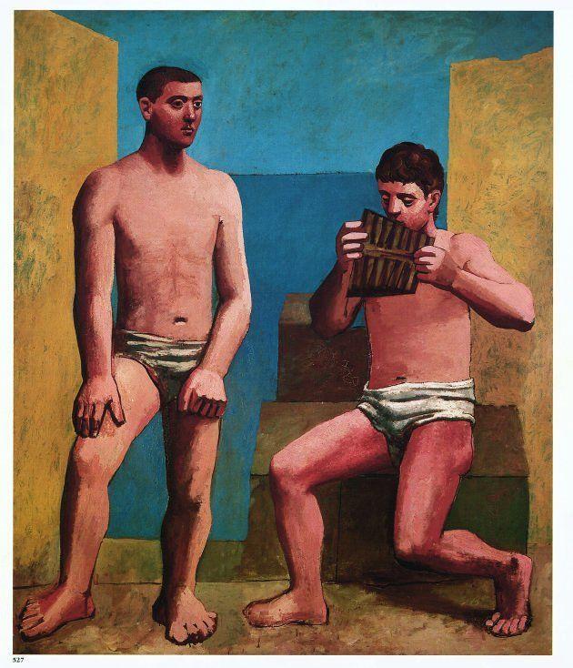 La Flûte de Pan [Il flauto di Pan], 1923 Olio su tela, 205 x 174 cm Parigi, Musée National