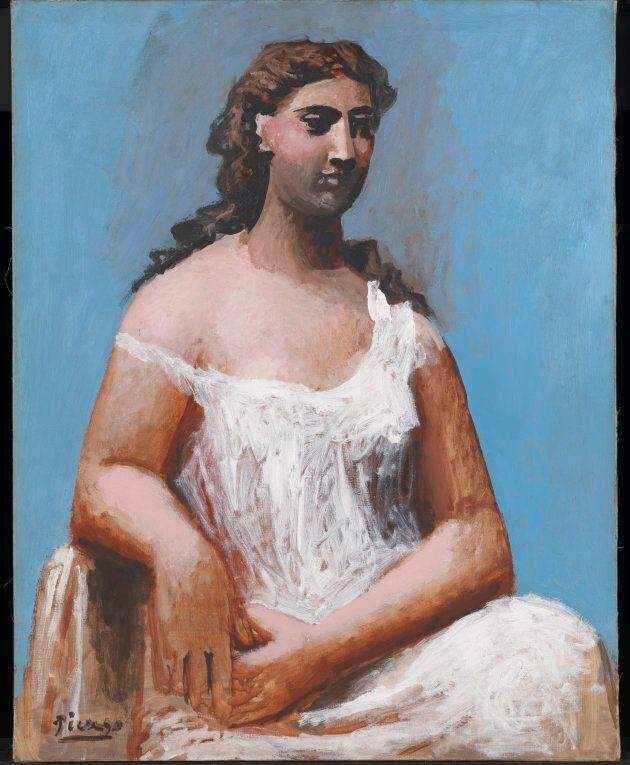 Femme assise en chemise [Donna seduta in camicia], 1923 Olio su tela, 92,1 x 73 cm Tate, Bequeathed by...