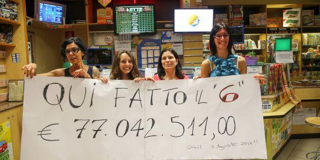 Vince 77,7 milioni di euro al Superenalotto a Caorle, ma aspetta 50 giorni per