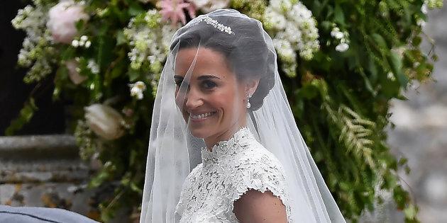 Matrimonio Di Pippa : Pippa middleton sposa l abito è banale dilei