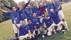 La squadra dell'Antitrust campione europeo di calcio a