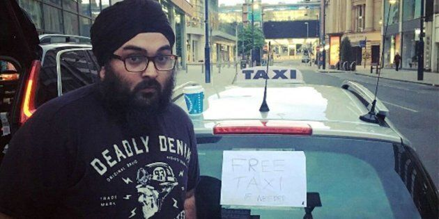 Il tassista che ha portato gratuitamente i feriti in ospedale: