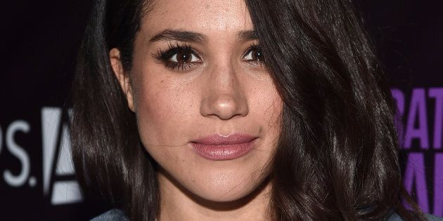 LOS ANGELES, CA - MAY 20: Actress Meghan Markle attends P.S. Arts' The pARTy at NeueHouse Hollywood on...