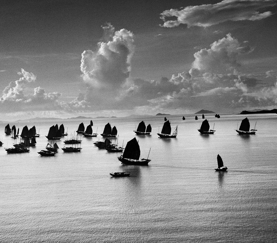 HONG KONG. 1952. Harbour of