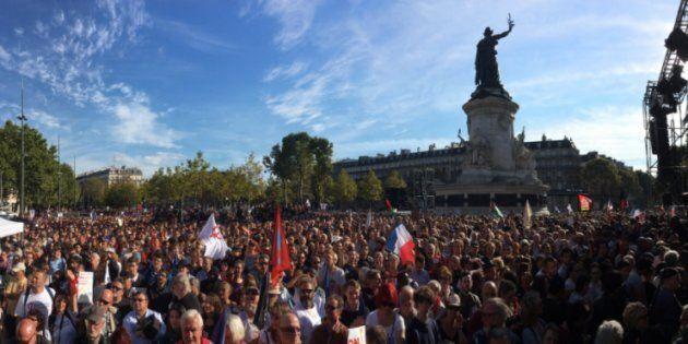 Migliaia in piazza contro la riforma del lavoro di