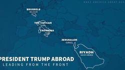 Trump sbaglia i confini dell'Italia e ci regala la