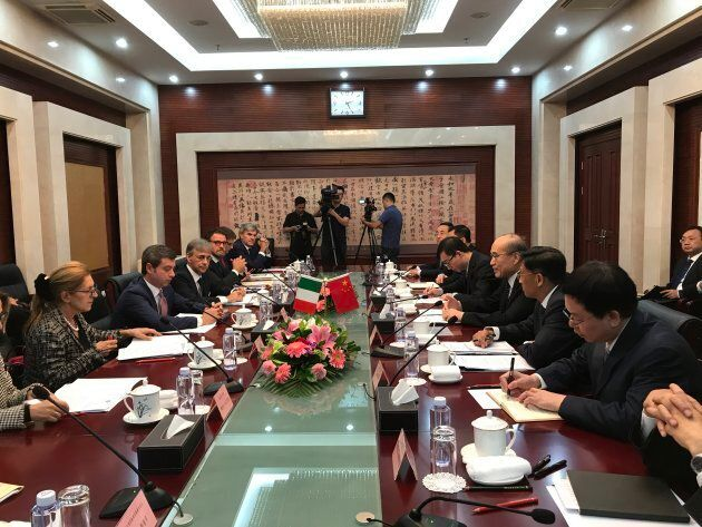 Incontri questioni in Cina