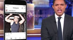 Trevor Noah Suggests Thirsty Reason For Possible Trump-Instagram