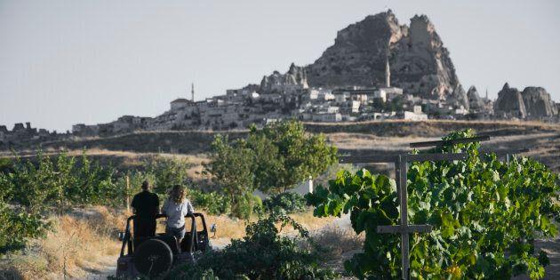 Autunno in Cappadocia, assaggi e paesaggi da scoprire al volo, in jeep e a