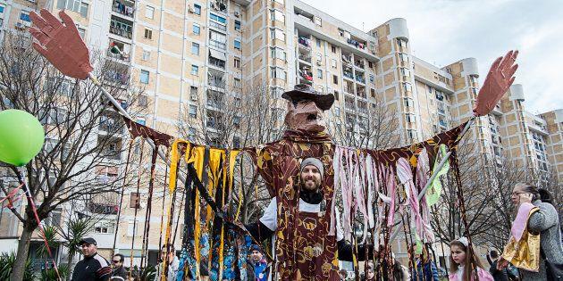 L'associazione culturale Gridas, come ogni anno, organizza il carnevale di Scampia. (Photo by Paolo Manzo/NurPhoto...