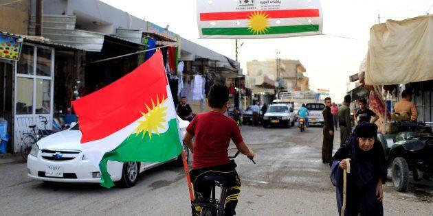Kurdistan, il 93% vota a favore