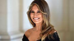 Perché Melania non è andata insieme alle altre first lady