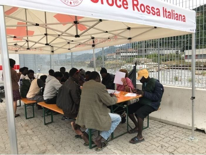 Checkpoint Ventimiglia. La