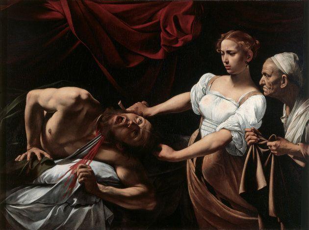 Giuditta e Oloferne, 1602, Gallerie Nazionalei Barberini e Corsini,