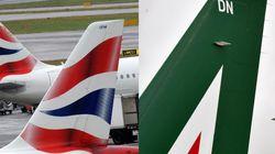 Sciopero Alitalia: cancellati 200 voli. British Airways torna alla normalità dopo il blocco