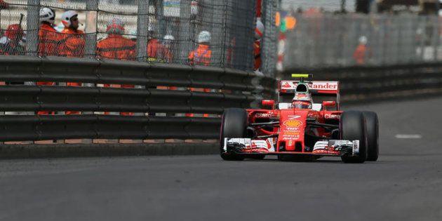 Montecarlo, Formula 1, Gran Premio di Monaco, nella foto Kimi Raikkonen, scuderia